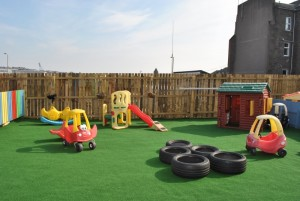 Play Area resized