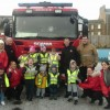 Fire Brigade Pays A Visit to Dundee Nursery